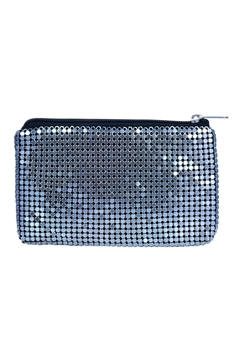 Fashion Small Mini Metal Sequin Coin Card Wallet HB0638