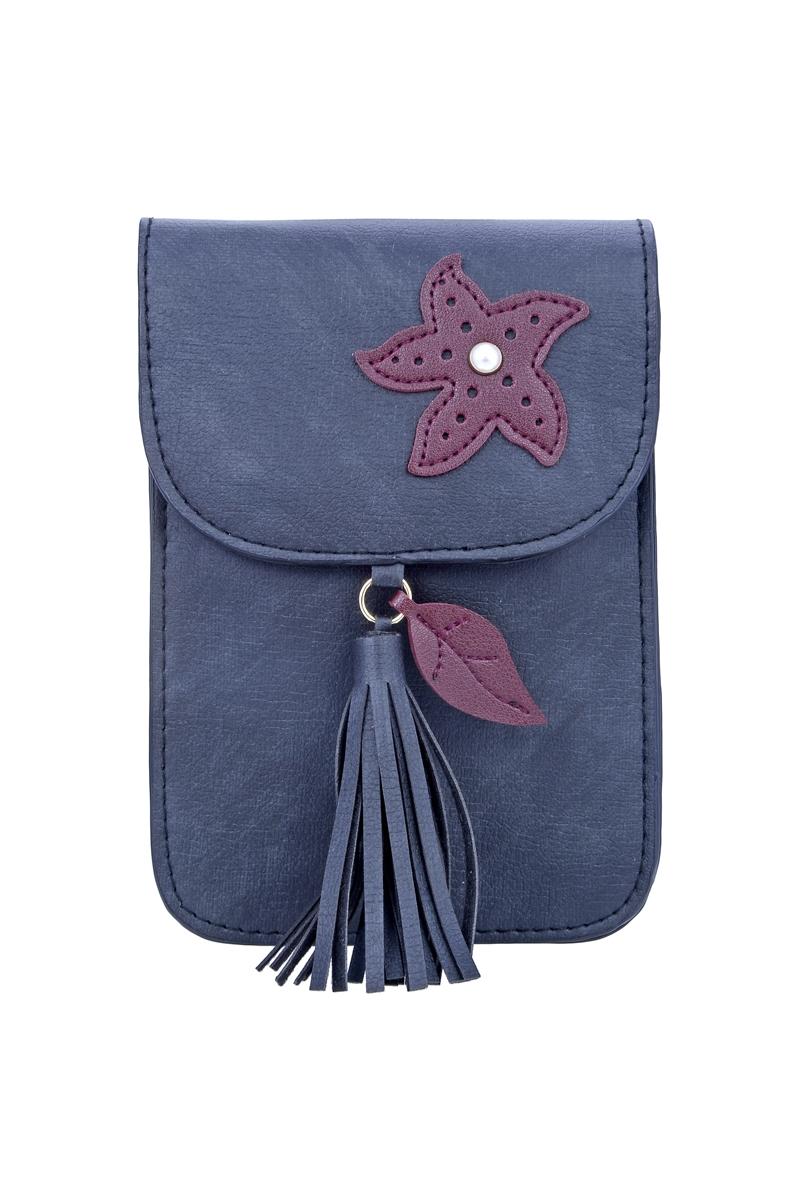 Fashion Women Leatherette Tassel Cellphone Pouch HB0639 74eb558425697