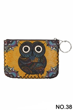 Women Ethnic Pattern Printed Wallet HB0665 - NO.38YW