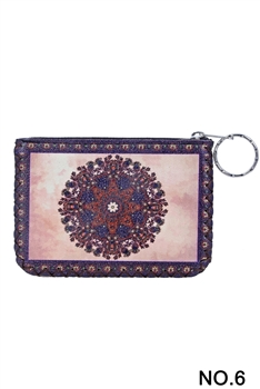Ethnic Printed Coin Purse HB0665 - NO.6 PK