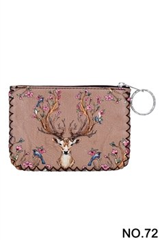 Women Ethnic Pattern Printed Wallet HB0665 - NO.72BR