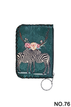 Women Ethnic Pattern Printed Wallet HB0665 - NO.76