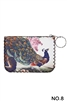 Peacock Printed Coin Purse HB0665 - No.8