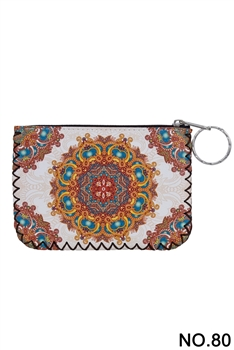 Women Ethnic Pattern Printed Wallet HB0665 - NO.80WH