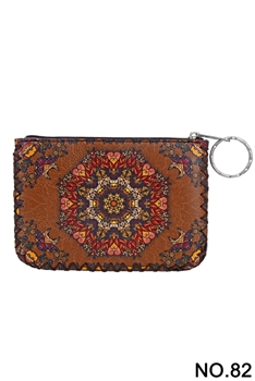 Ethnic Printed Coin Purse HB0665 - NO.82BR