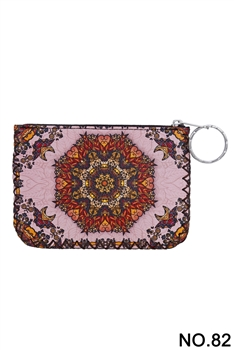 Women Ethnic Pattern Printed Wallet HB0665 - NO.82PK