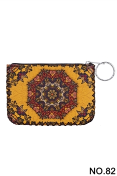 Women Ethnic Pattern Printed Wallet HB0665 - NO.82YW