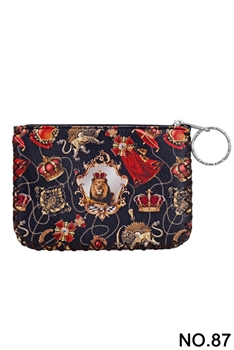 Women Ethnic Pattern Printed Wallet HB0665 - NO.87