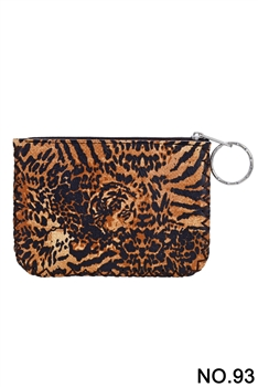 Women Ethnic Pattern Printed Wallet HB0665 - NO.93