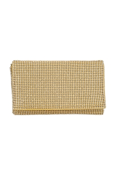 Rhinestone Evening Handbags HB0705 - Gold