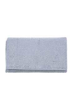 Rhinestone Evening Handbags HB0705 - White