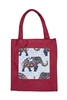 Printed Patch Tote Bags HB0710-NO.66 - Red