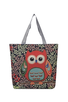 Owl Canvas Tote Bags HB0753