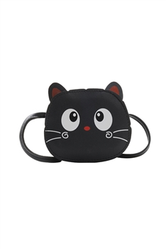 Cat Kids Crossbody Bags HB0864 - Black