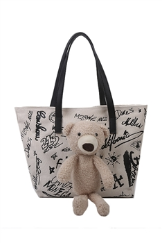 Stuffed Bear Tote Bags HB0869