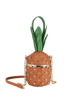 Pineapple Rivet Crossbody Bags HB0883