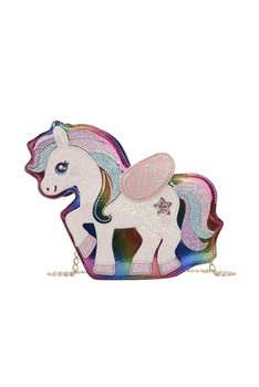 Unicorn Pu Leather Crossbody Bags HB0886