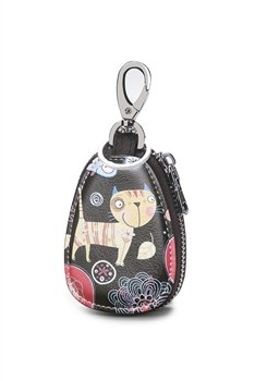 Animal Pattern Key Case HB0898 - Black