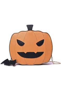 Pumpkin Pu Leather Crossboady Bags HB0913