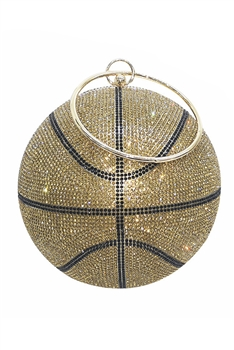 Basketball Rhinestone Evening Bags HB1034-18CM