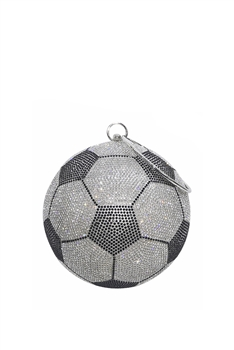 Football Rhinestone Evening Bags HB1035-14CM