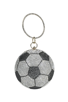 Football Rhinestone Evening Bags HB1035-15CM