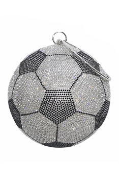 Football Rhinestone Evening Bags HB1035-18CM