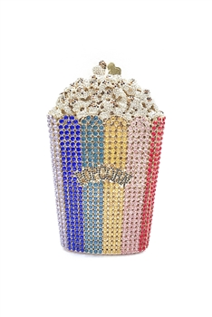 Popcorn Rhinestone Evening Bags HB1060 - Multi