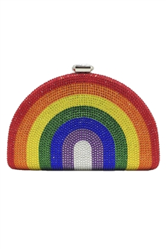 Rainbow Rhinestone Evening Bags HB1061