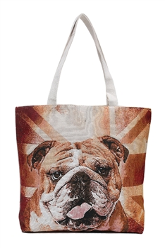 Dog Printed  Canvas Bag HG109