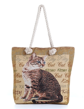 Cats Kitty Canvas Bag HG110