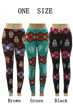 Geometric Printed Leggings HY3395