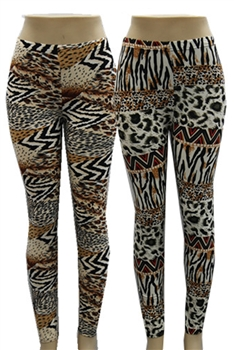 Animal Printed Leggings HY3398