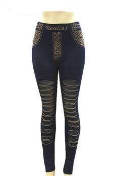 Lace Mesh Leggings HY3422