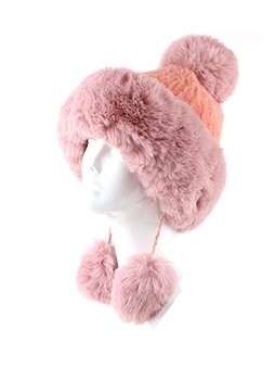Lady's Hats HY6918 - Pink