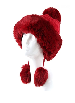Lady's Hats HY6918 - Red