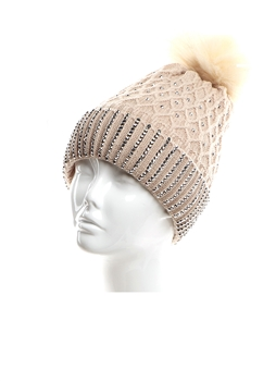 Wool Hats HY7900 - Beige