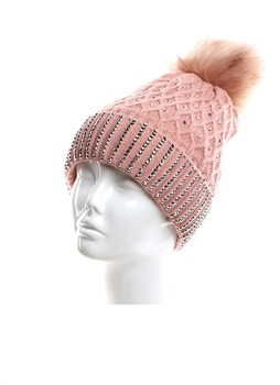 Wool Hats HY7900 - Pink