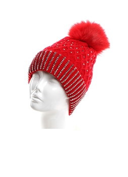 Wool Hats HY7900 - Red