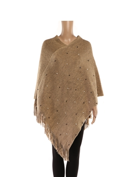 Poncho HY7940 - Brown