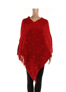 Poncho HY7940 - Red