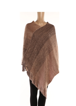 Poncho HY7944 - Brown