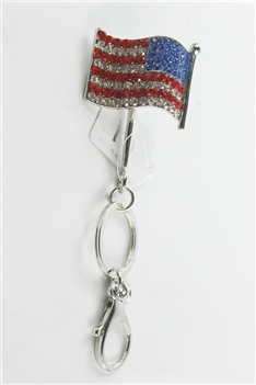 Rhinestone Key Chain K1053