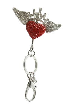 Rhinestone Key Chain K1054
