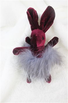 Hairy Rabbit Key Chain K1077