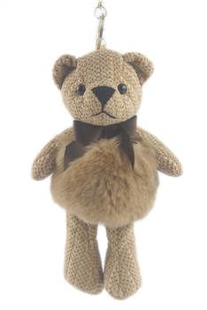 Teddy Cute Bear Key Chain K1089