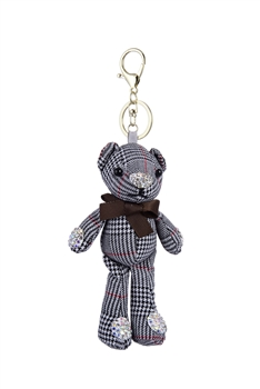 Charm Car Pendant Cute Bear Key Chains K1095