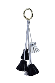 Fashion Leatherette Tassels Key Chain K1099