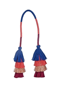 Colorful Tassel Key Chain K1110