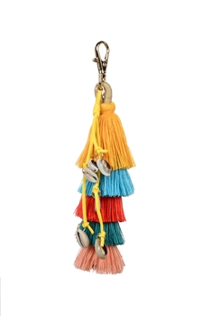 Dangle Shell Tassel Key Chain K1113